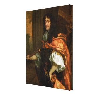 Prince Rupert (1619-82), c.1666-71 (oil on canvas) Canvas Print