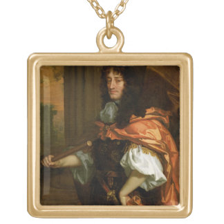 Prince Rupert (1619-82), c.1666-71 (oil on canvas) Square Pendant Necklace