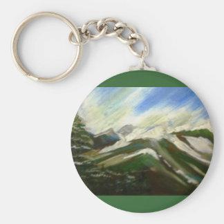Prince Rupert, BC Basic Round Button Keychain