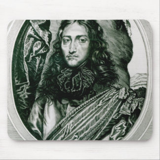 Prince Rupert of the Rhine engraved by William Mouse Pad