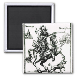 Prince Rupert on Horseback Magnet