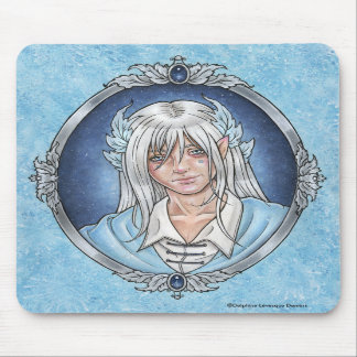 Prince Sapphire Fairy Mousepad