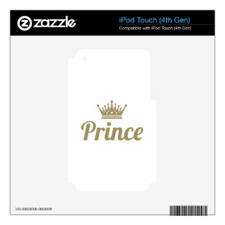 Prince Skin For iPod Touch 4G