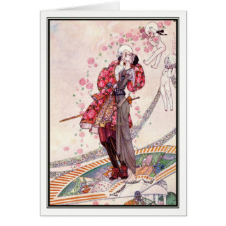 Prince Souci on the Fan by Kay Nielsen Card