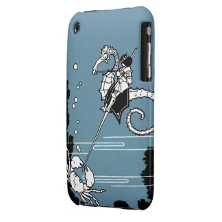 Prince & The  Seahorse iPhone 3 Case
