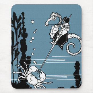 Prince & The  Seahorse Mouse Pads