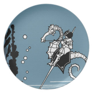 Prince & The  Seahorse Plate