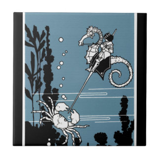 Prince & The  Seahorse Tile