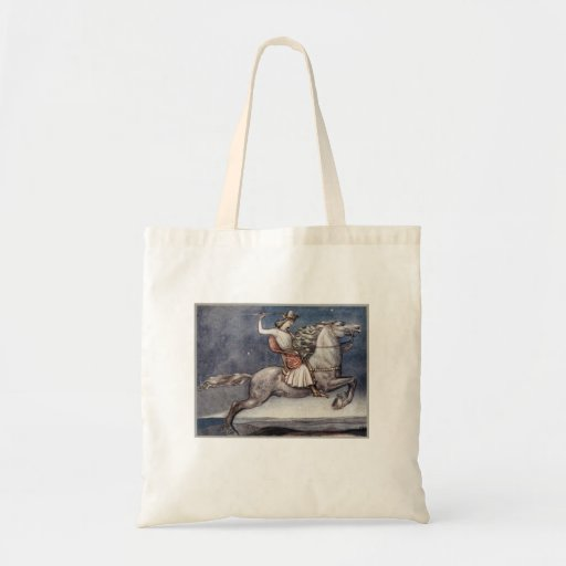 Prince Throwing a Spear Budget Tote Bag
