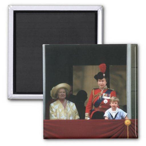 Prince William 1984 2 Inch Square Magnet