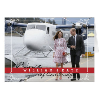 Prince William and Catherine Card