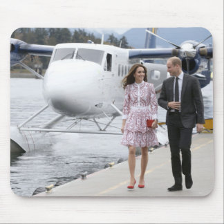 Prince William and Catherine Mouse Pad