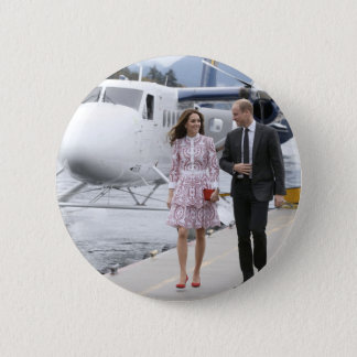 Prince William and Catherine Pinback Button