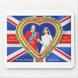 Prince William and Catherine Royal Wedding Mouse Pad