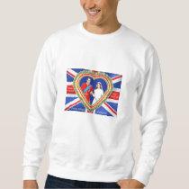 Prince William and Catherine Royal Wedding Sweatshirt