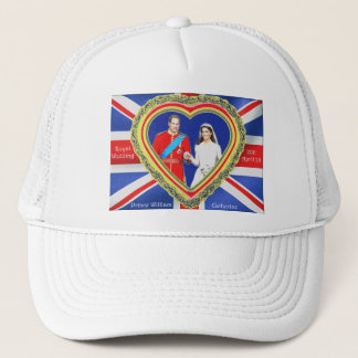 Prince William and Catherine Royal Wedding Trucker Hat