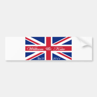 Prince William and Kate Bumper Sticker