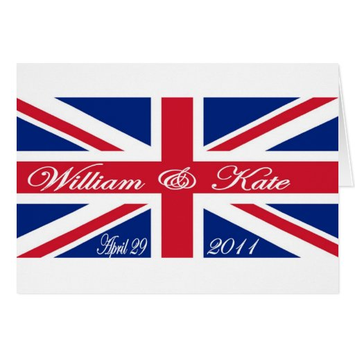 Prince William and Kate Card