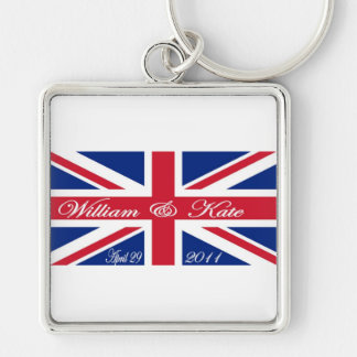Prince William and Kate Keychain