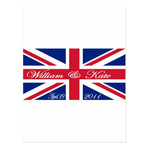 Prince William and Kate Postcards