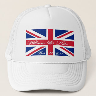 Prince William and Kate Trucker Hat