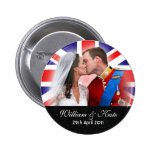 Prince William & Catherine Royal Wedding Button
