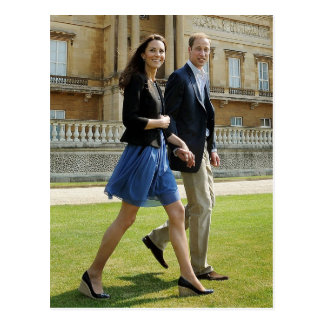 Prince William,Duchess Catherine Postcard