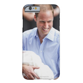 Prince William Holding Newborn Son 2 Barely There iPhone 6 Case