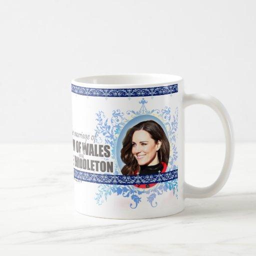 Prince William & Kate Middleton Royal Wedding Mug