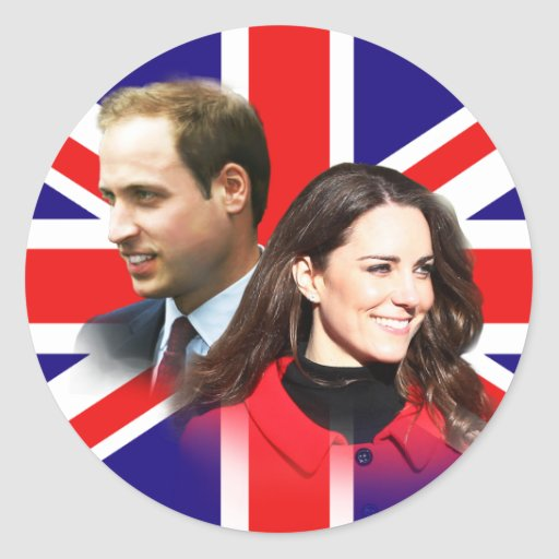 Prince William & Kate Middleton Stickers