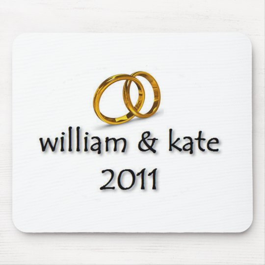 Prince William & Kate's Wedding 2011 Mouse Pad