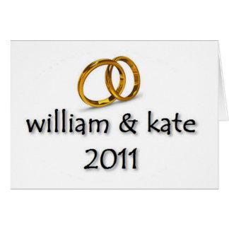 Prince William & Kate's Wedding Greeting Cards