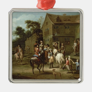 Prince William of Orange with Huntsmen Christmas Tree Ornament