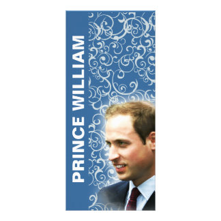 Prince William - Princess Catherine Bookmark Rack Card