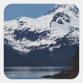Prince William Sound Alaska Essence Gifts Square Sticker