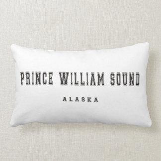 """Prince William Sound"" Alaska Throw Pillow"