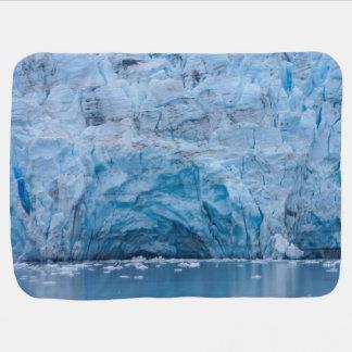 Prince William Sound Glacier Swaddle Blanket