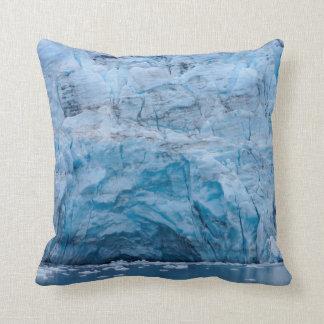 Prince William Sound Glacier Throw Pillow