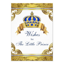 Prince Wishes for Baby Boy Baby Shower Card
