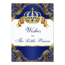 Prince Wishes for Baby Card
