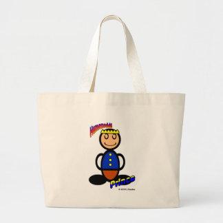Prince (with logos) large tote bag