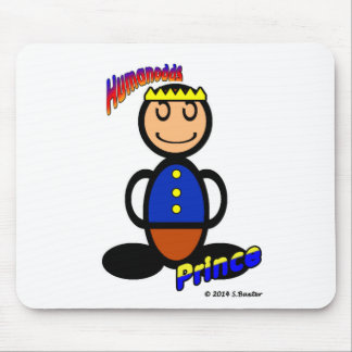 Prince (with logos) mouse pad