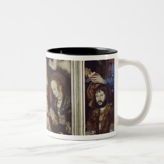 Princely Altarpiece, 1510-12 Two-Tone Coffee Mug