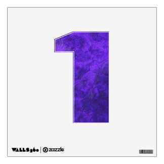 Princely Purple #1 Wall Decal