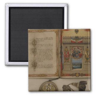 Prince's Diploma investing Otto von Bismarck Refrigerator Magnet