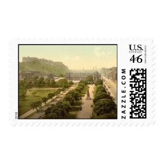 Princes Street I, Edinburgh, Scotland Stamps