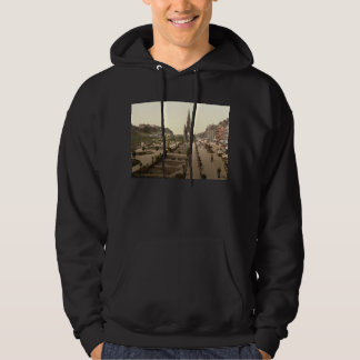 Princes Street, the Castle, and Scott Monument Hoodie