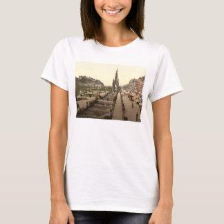 Princes Street, the Castle, and Scott Monument T-Shirt