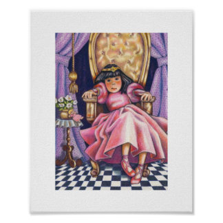 Princesa aburrida póster
