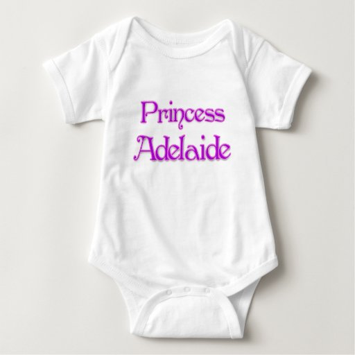 Princesa Adelaide Body Para Bebé